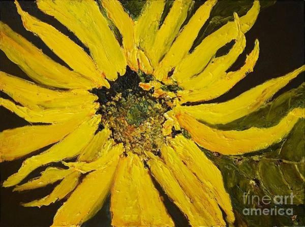 Linda's Arizona Sunflower 2 Poster