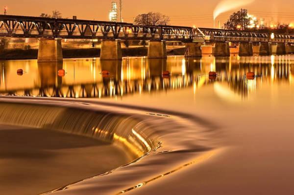 Liquid Gold - Former Tulsa Pedestrian Bridge  Poster