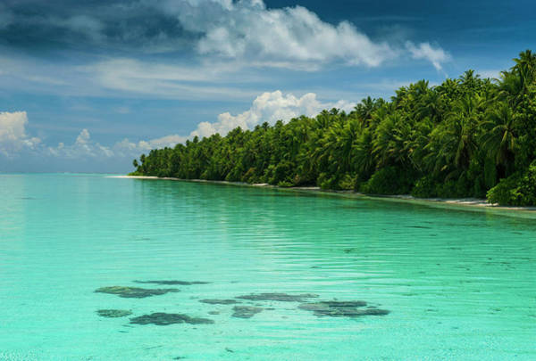 Little Islet And Turquoise Water Poster