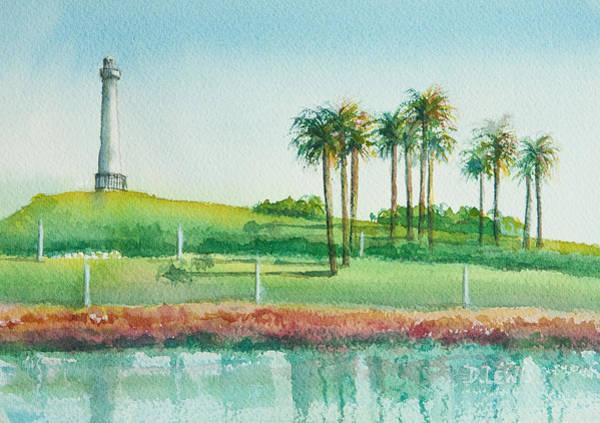 Long Beach Lighthouse Poster