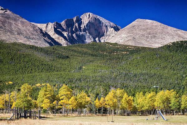 Longs Peak A Colorado Playground Poster