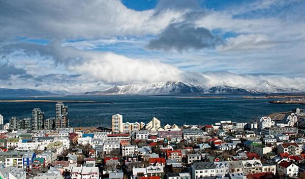 Lookout Over Reykjavik Poster