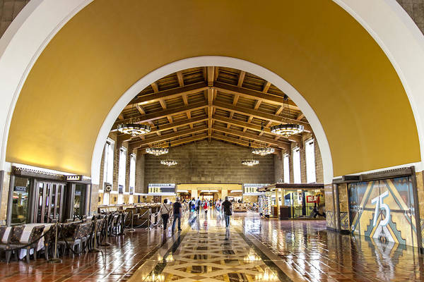 Los Angeles Union Station Poster