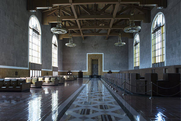 Los Angeles Union Station - Custom Poster