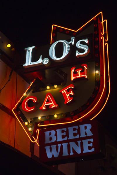 L.o's Cafe Poster