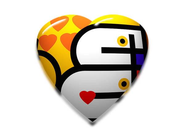 Love Heart Pop Poster