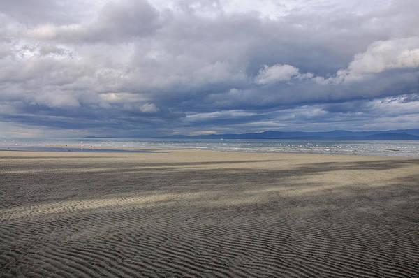 Low Tide Sandscape Poster