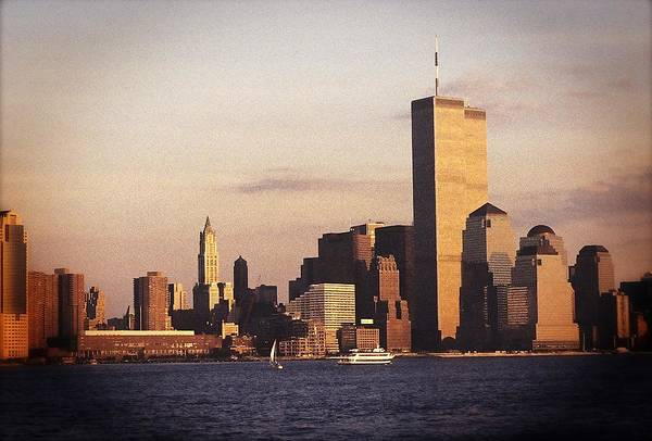 Lower Manhattan World Trade Center Poster