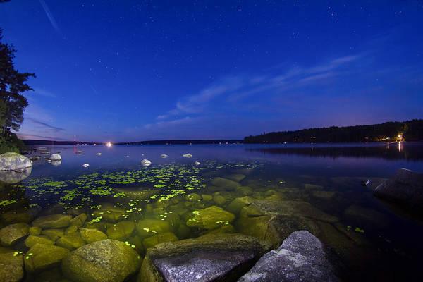 Luminous Lake Poster