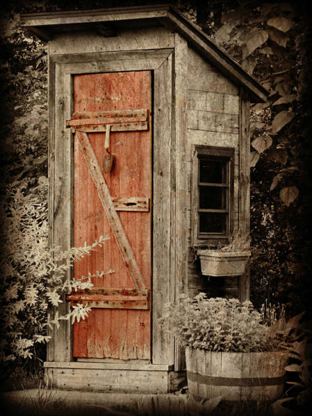 Luxury Outhouse Poster