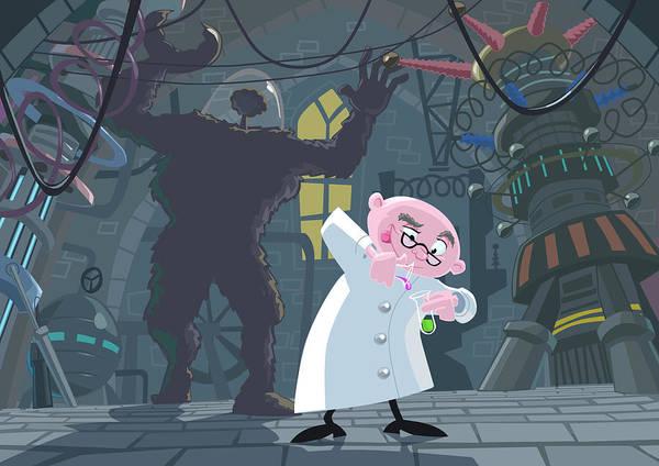 Mad Professor Experiment Poster