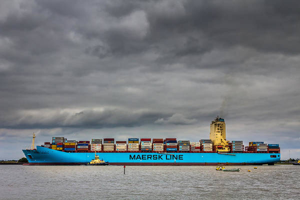 Maersk Container Ship. Poster