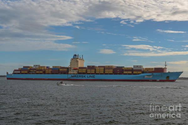 Ocean Going Freighter Poster
