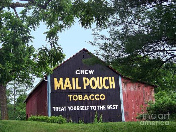 Mail Pouch Barn Framed Poster