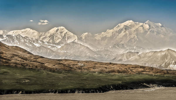 Majestic Mount Mckinley Poster