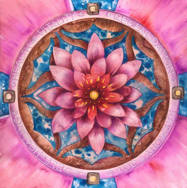 Mandala Of Health Poster