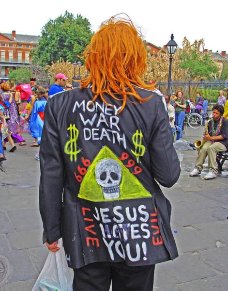 Mardi Gras Anarchist Poster
