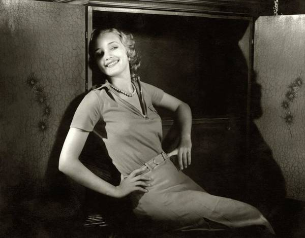 Marian Marsh Smiling Poster