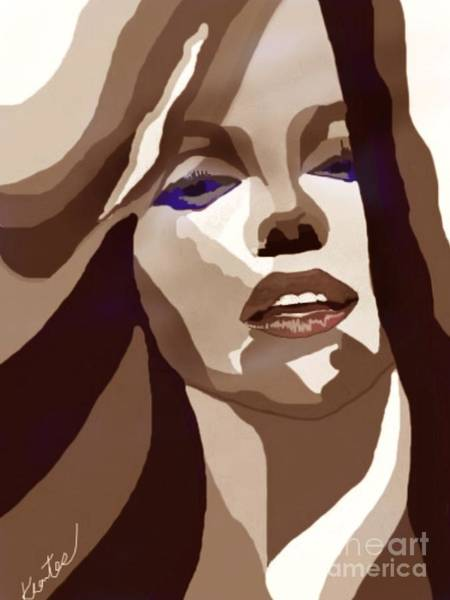 Marilyn Brown Girl Poster