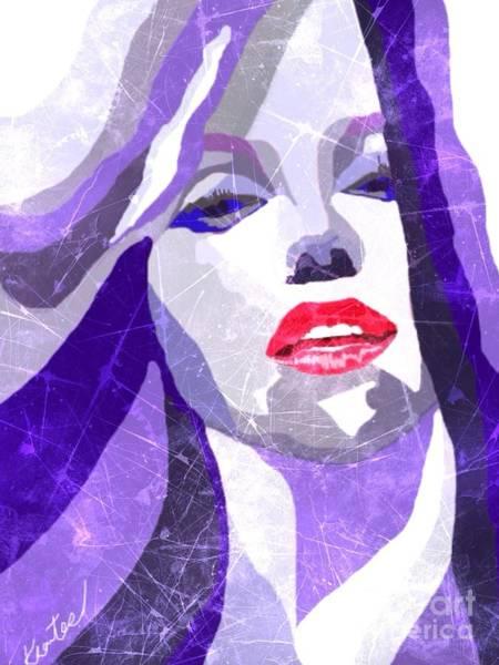 Marilyn Scratch Poster