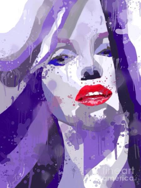 Marilyn Splash Poster