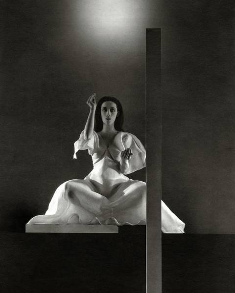 Martha Graham In Primitive Mysteries Poster