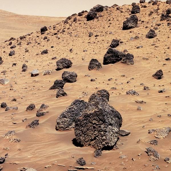 Martian Rocks Poster