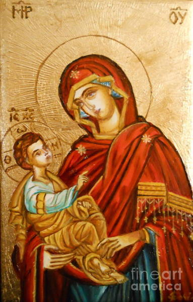 Mary With Jessus R.1 Poster