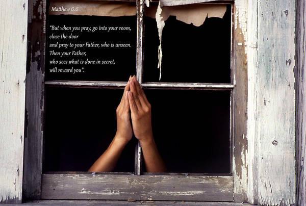 Matthew 6 6 Poster