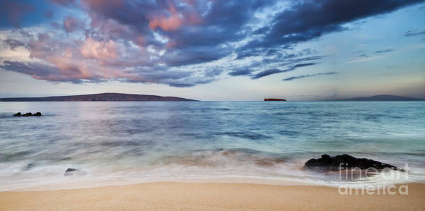 Maui Sunrise With Kahoolawe Molokini And Lanai Poster