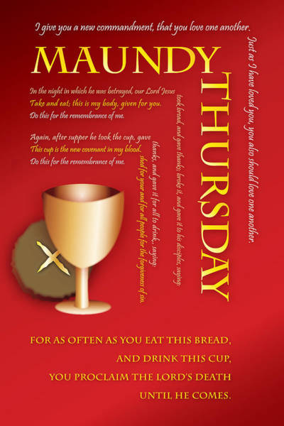 Maundy Thursday Poster