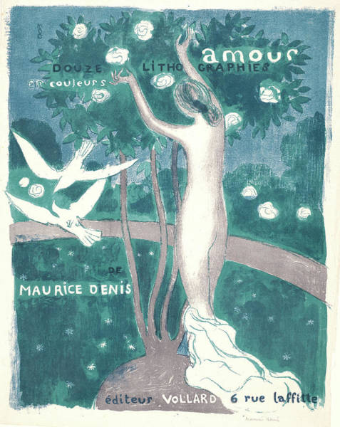 Maurice Denis French, 1870 - 1943. Love Amour Poster