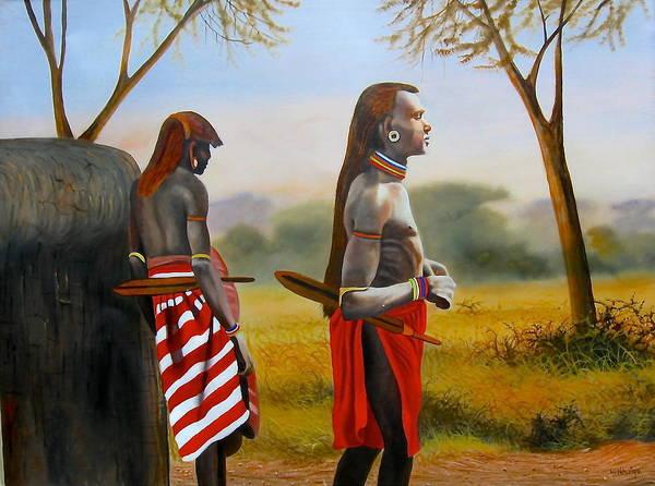 Men Of The Maasai Poster