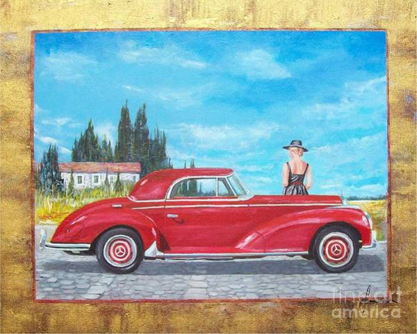 Mercedes-benz 300 Coupe Poster
