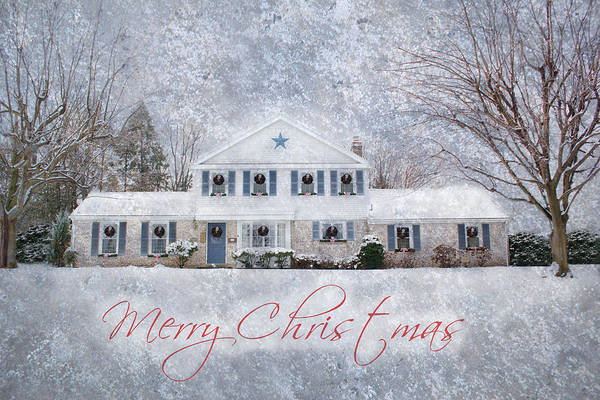 Wintry Holiday - Merry Christmas Poster