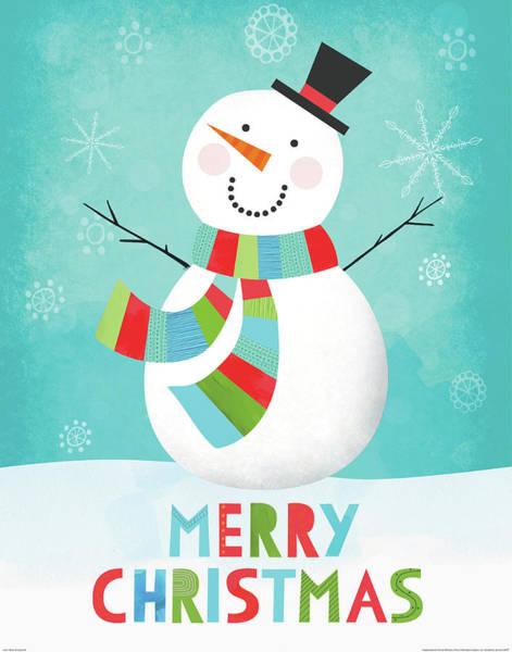 Merry Snowman IIi Poster