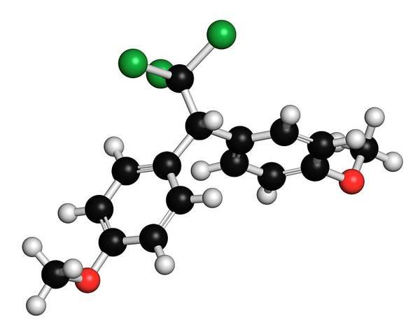 Methoxychlor Molecule Poster