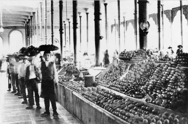 Mexico Market, 1904 Poster