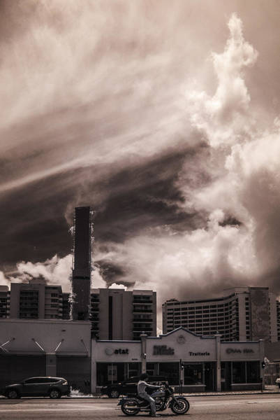 Miami Beach Sky Poster