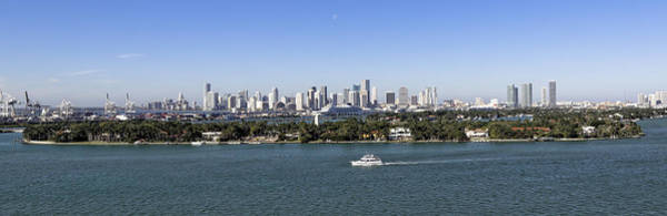 Miami Daytime Panorama Poster