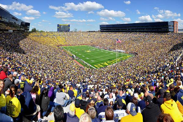 Michigan Stadium - Wolverines Poster
