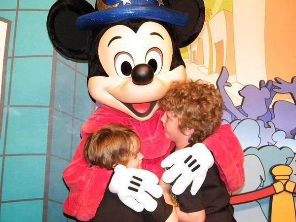 Mickey Love Poster