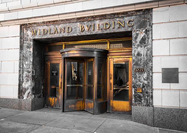 Midland Building Poster
