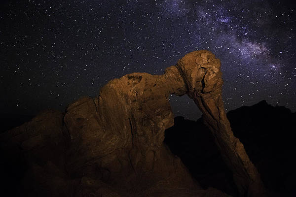 Milky Way Over The Elephant 2 Poster