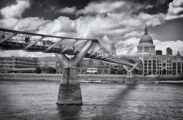 Millennium Bridge - St Pauls Cathedral Poster