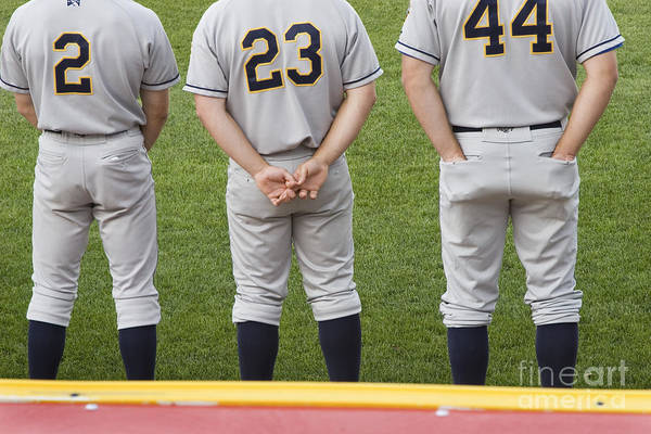 Minor League Baseball Players Poster