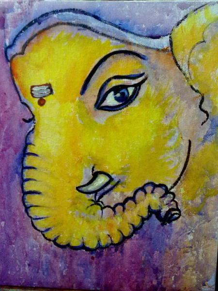 Mischievous Ganesha Poster