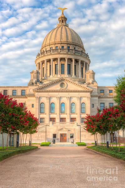 Mississippi State Capitol V Poster