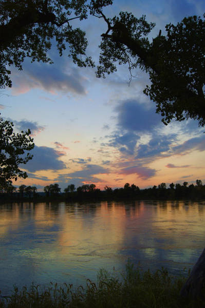 Missouri River Glow Poster