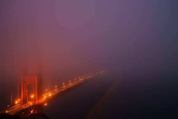 San Francisco - Misty Golden Gate  Poster